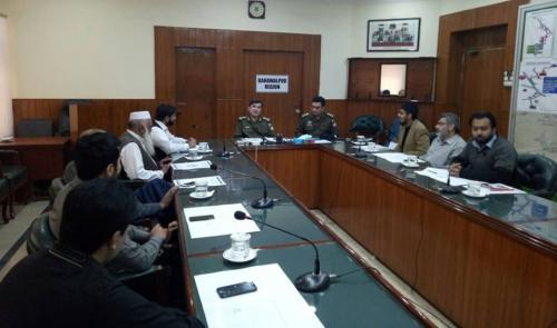BCCI DELEGATION MEETING WITH RPO BAHAWALPUR